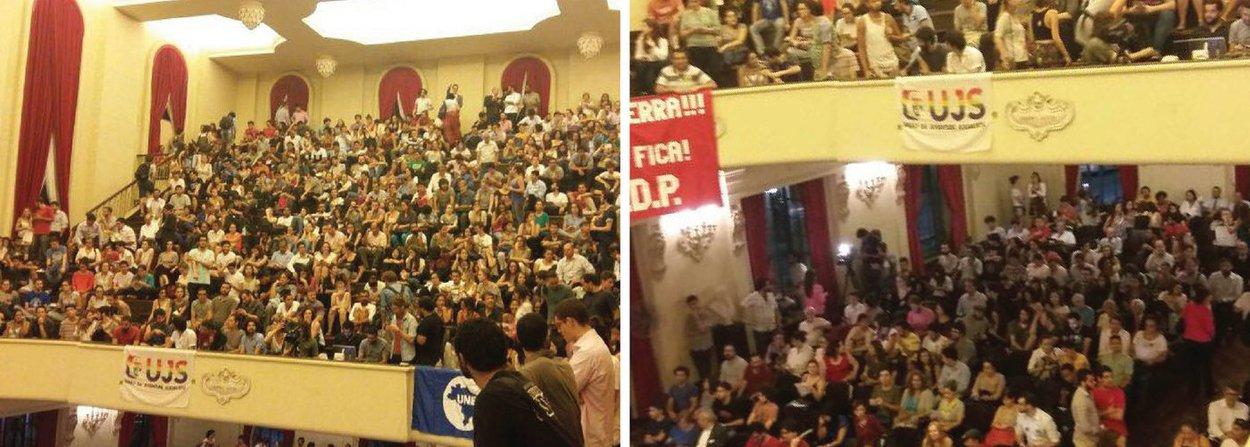 """Um grupo de advogados e juristas, entre eles o deputado federal Paulo Teixeira (PT-SP), convocou para a noite desta quinta (17) uma mobilização de apoio à presidente Dilma Rousseff; chamado de """"Ato de Juristas pela Legalidade e pela Democracia"""", o evento acontecerá na Faculdade de Direito da Universidade de São Paulo (USP), no centro de São Paulo; mais de 1,7 mil pessoas já confirmaram presença, conforme página do evento no Facebook"""