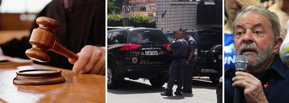 """Em nota intitulada """"Não se combate corrupção corrompendo a Constituição"""", a Associação Juízes para a Democracia (AJD) criticou nesta segunda-feira 7 o mandado de condução coercitiva cumprido contra o ex-presidente Lula e disse que """"não se pode concordar com os shows midiáticos, promovidos em cumprimentos de ordens de prisão e de condução coercitiva"""" no âmbito da Operação Lava Jato; """"Vale, sempre, lembrar que ilegalidade não se combate com ilegalidade e, em consequência, a defesa do Estado Democrático de Direito não pode se dar às custas dos direitos e garantias fundamentais"""", diz ainda o texto"""