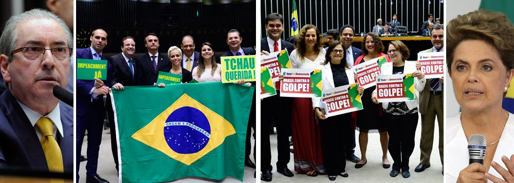 É isso o que estará em jogo neste domingo, quando uma Câmara dos Deputados, dominada por Eduardo Cunha (PMDB-RJ), julgará o afastamento da presidente Dilma Rousseff; apenas na mais recente denúncia, Cunha foi acusado de receber R$ 52 milhões em propinas de uma empreiteira – ao que tudo indica, para si e sua bancada; é esse parlamento, liderado por um dos políticos mais corruptos da história do País, que poderá afastar uma presidente honesta, que teve 54 milhões de votos; golpe brasileiro já virou motivo de espanto em publicações internacionais, como New York Times, El País, Independent, Guardian e Washington Post, e também foi condenado pela OEA; se passar, será a vitória do crime