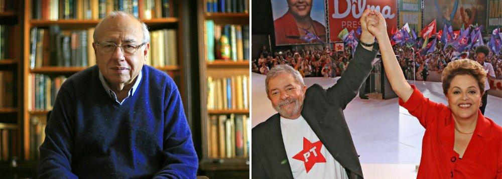 """Em análise sobre o possível impeachment de Dilma Rousseff, o escritor Fernando Verissimo diz que o processo vai além do PT e da figura do ex-presidente Lula: """"Foi o fim da ilusão que qualquer governo com pretensões sociais poderia conviver, em qualquer lugar do mundo, com os donos do dinheiro e uma plutocracia conservadora, sem que cedo ou tarde houvesse um conflito, e uma tentativa de aniquilamento da discrepância. Um governo para os pobres, mais do que um incômodo político para o conservadorismo dominante, era um mau exemplo, uma ameaça inadmissível para a fortaleza do poder real. Era preciso acabar com a ameaça e jogar sal em cima"""""""
