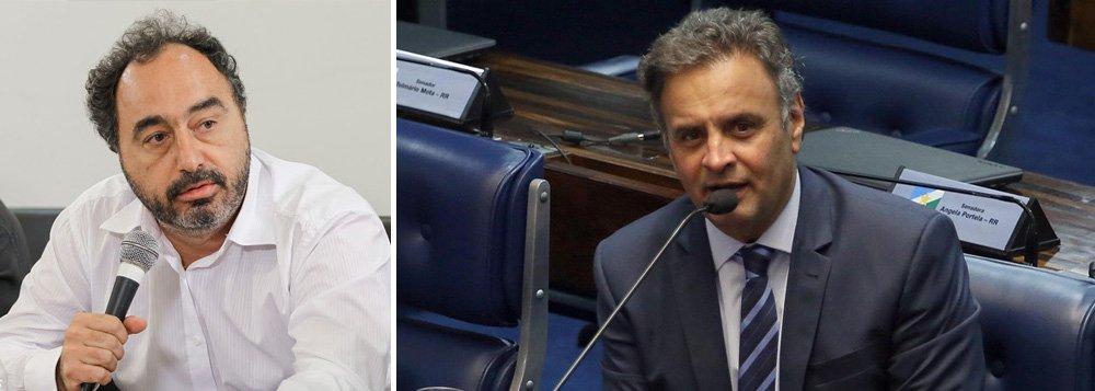 Suspeita seria de que senador tucano teria vazado a suposta delação de Delcídio Amaral (PT-MS), mas omitindo os pontos que lhe dizem respeito