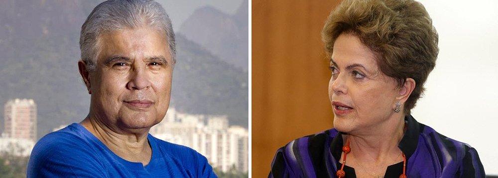 """""""Se não roubou, Dilma arrisca-se a ser condenada por conivência. Falta-lhe autoridade política para enfrentar o difícil momento que o Brasil atravessa. Seu governo é uma nau sem destino repleta de medíocres, inclusive ela mesma. As crises que paralisam o país só serão resolvidas em menos tempo se a tarefeira abdicar. Ou então se ela for removida, respeitada a lei"""", disse o colunista Ricardo Noblat"""