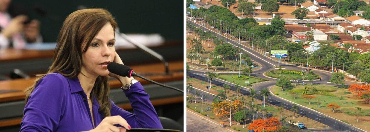 Deputada de oposição ao governo federal, Professora Dorinha (DEM-TO) afirmou que conseguiu garantir recurso na ordem de R$ 4 milhões para a primeira etapa de ações de infraestrutura urbana em Gurupi, com obras de pavimentação asfáltica. O Ministério das Cidades já teria empenhado o valor; só neste ano, Professora Dorinha garante ter destinado R$ 19,9 milhões para Gurupi, para áreas de Educação e Infraestrutura; do total, R$ 15,3 milhões foram para a Universidade Federal do Tocantins (UFT) construir o restaurante universitário; laboratório de resíduos sólidos; biblioteca; bloco de sala de aula; e dois complexos laboratoriais