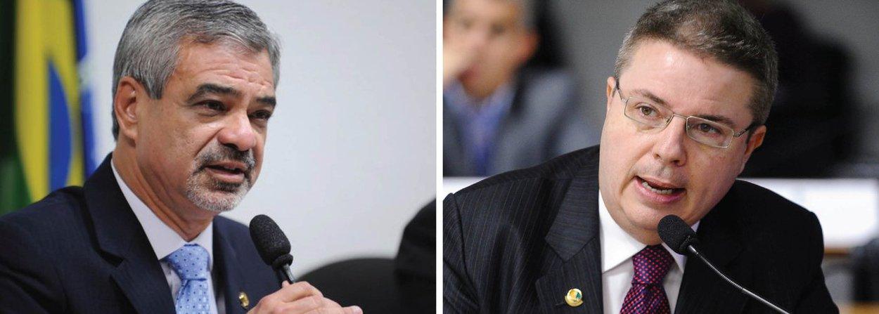 """Líder do governo no Senado, Humberto Costa (PT-PE), afirmou que o relator do pedido de afastamento da presidenta Dilma Rousseff na comissão especial do impeachment, senador Antonio Anastasia (PSDB-MG), cometeu diversas pedaladas fiscais, desrespeitou metas, causou prejuízos de mais de R$ 8 bilhões em áreas essenciais, como saúde e educação, e assinou mais de 100 decretos de suplementação orçamentária sem aval do Legislativo entre 2011 e 2014, período em que foi governador de Minas; ele também lembrou que os governos do PSDB mineiro foram alvo do TCE-MG porque listaram até vacina de cavalo como gastos de saúde; """"Vejam bem a visão tucana: vacina para cavalo como gasto de saúde. Eles criaram as cavalgadas fiscais"""", ironizou"""