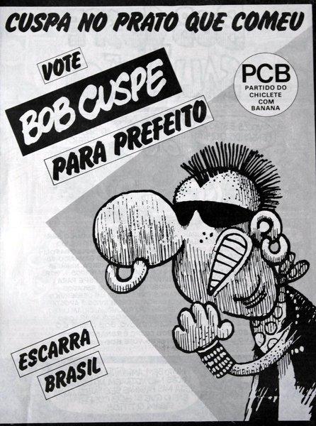 Bob Cuspe, personagem escrachado do genial Angeli, tinha uma única resposta aos coxinhas da segunda metade dos anos oitenta, os analfabetos políticos deslumbrados, os hipócritas ostentadores que vicejaram logo após o fim da ditadura militar: cuspe na cara