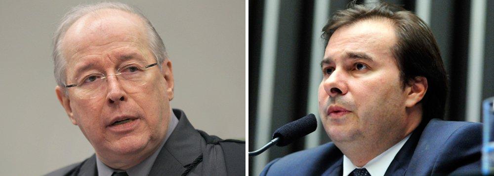 Ministro Celso de Mello decidiu liberar nesta quarta-feira 1º a candidatura do presidente da Câmara dos Deputados, Rodrigo Maia (DEM-RJ), à reeleição; Mello julgou ação na qual o deputado federal André Figueiredo (PDT-CE), um dos adversários de Maia na disputa,contesta a legalidade da candidatura