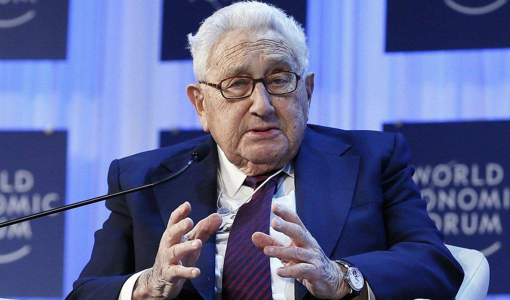 Henry Kissinger em Davos