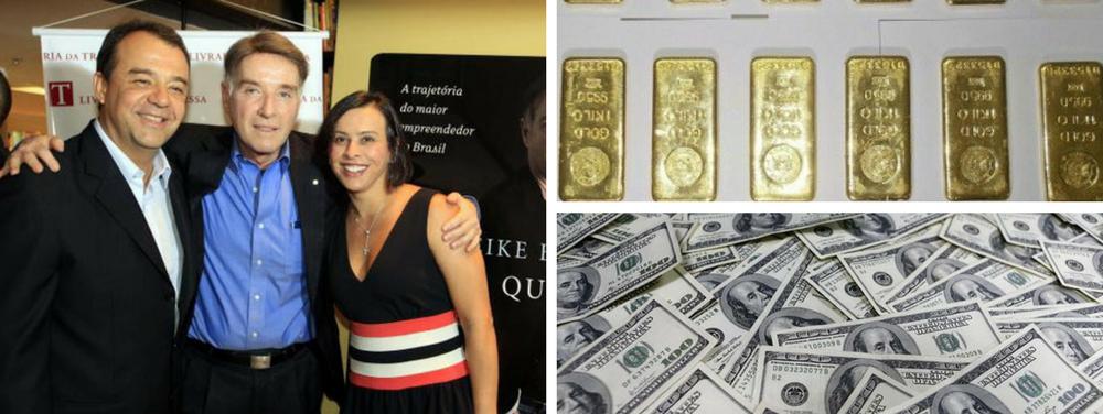 Cabral, Eike e dinheiro