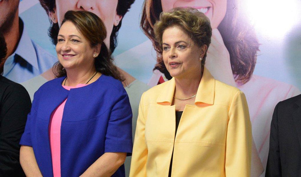 Presidência da República considera prevista a chegada da presidente Dilma Rousseff em Palmas na próxima sexta-feira, 6 de maio, para a inauguração do Centro de pesquisas da Embrapa Pesca e Aquicultura;agenda está sendo articulada pela ministra da Agricultura, Kátia Abreu, e faz parte da estratégia do governo de entregar o máximo de obras e fazer os anúncios mais importantes do governo, antes do Senado votar a admissibilidade do processo de impeachment, que poderá afastar Dilma por 180 dias