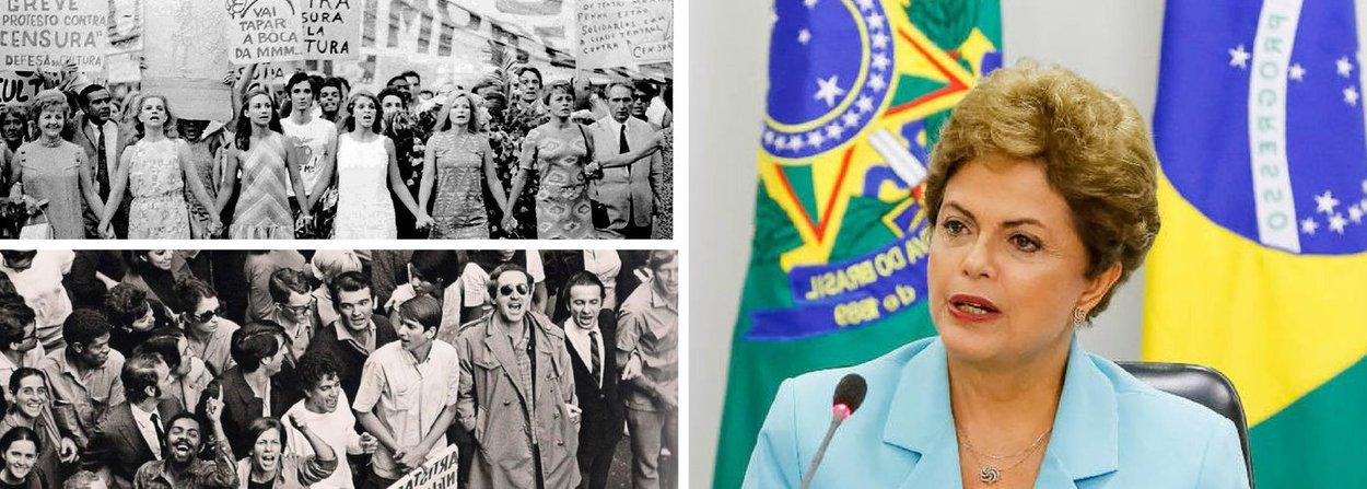 """""""Onde estão os artistas?"""", questiona o colunista Alex Solnik; """"A ausência dos artistas da vida política brasileira é um fato assustador e preocupante. Parece que sumiram todos. O oposto do que aconteceu entre os anos 64-84 quando eles jamais se omitiram em relação ao grande problema nacional que era a ditadura militar"""", afirma; Solnik prega mobilização em defesa da democracia; """"A despolitização dos artistas é um fenômeno que merece ser investigado mais profundamente. Eles ajudaram a derrubar a ditadura, mas se recusam a manter viva a democracia"""""""