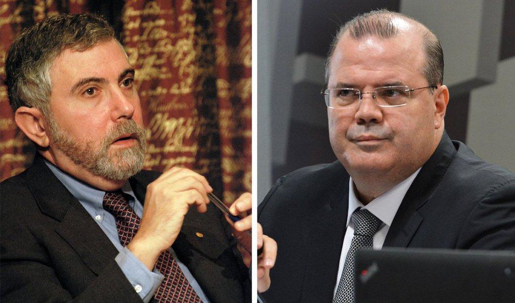 """""""Vivemos num país onde o lucro dos quatro maiores bancos cresceu 46% entre o primeiro semestre de 2014 e o primeiro semestre de 2015. Neste período, a taxa de juros, que era de 10,4%, passou a 14,5%, seguindo uma alta que quase dobrou o custo do dinheiro em relação a março de 2013"""", diz o colunista Paulo Moreira Leite, ao criticar a política monetária conduzida por Alexandre Tombini, no Banco Central; enquanto isso, nos Estados Unidos, o Nobel de Economia Paul Krugman aponta a bronca dos banqueiros com a taxa de juros de 0,25% ao ano; por aqui, diz ele, """"apesar dos lucros históricos de 2015, já fazem campanha preventiva contra qualquer redução na política de juros"""""""