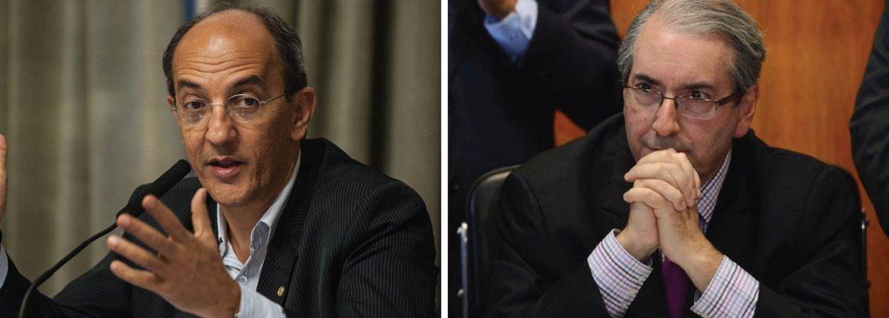 O deputado Arnaldo Jordy (PPS-PA) cita as recentes denúncias de que o patrimônio de Cunha teria crescido de forma incompatível com seus rendimentos e de que ele teria tentado obter vantagens indevidas com o ex-presidente da OAS, Leonardo Pinheiro