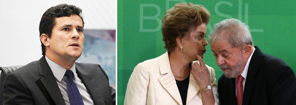 """Jornalista Fernando Brito elenca uma série de fatos que mostram que a presidente Dilma Rousseff, que sabia que o ex-presidente Lula estava sendo monitorado, poderia ter evitado a interceptação; """"Se grava a presidenta da República, que dirá os advogados? Que dirá a mim e a você"""", questiona; """"Se há desvio de finalidade na prática de atos de ofício, este é de Sérgio Moro. Porque usa – e já teve nisso o beneplácito de Gilmar Mendes, embora espere-se que não vá tê-lo do Supremo – não apenas uma prova ilegal, mas uma atitude imoral"""", critica"""