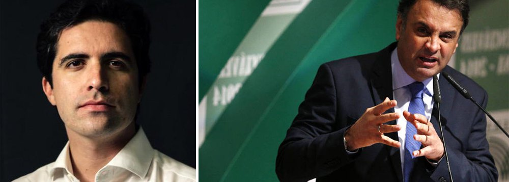 """""""Os tucanos dobraram a aposta no caos nesta semana. Com uma única exceção, eles se uniram para derrubar vetos de Dilma Rousseff a projetos que ameaçam o ajuste fiscal"""", disse o colunista Bernardo Mello Franco, sobre a linha de conduta que tem sido adotada pelo PSDB, sob o comando do senador Aécio Neves; """"A lógica por trás dos votos do PSDB é clara. O partido quer desgastar Dilma a qualquer preço, mesmo que essa atitude ajude a empurrar o Brasil para o buraco""""; ele afirmou ainda que, apesar da irresponsabilidade, Aécio decidiu lavar as mãos"""