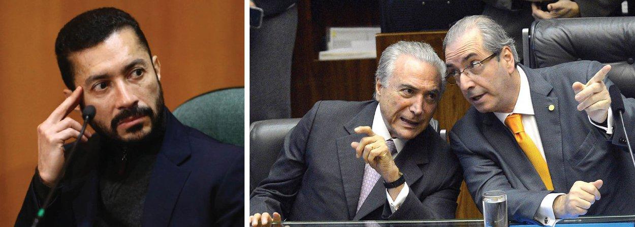 """Um dos principais lobistas do País, Fernando Baiano depôs hoje diante do Conselho de Ética da Câmara dos Deputados e confirmou ter pago propina ao presidente da Câmara, Eduardo Cunha (PMDB-RJ), que foi o principal responsável pela condução do golpe parlamentar que pode afastar a presidente Dilma Rousseff e colocar no poder o vice-presidente Michel Temer; nesta manhã, na Bahia, a presidente Dilma Rousseff, explorou esse paradoxo: """"quem me julga é corrupto""""; apesar da tonelada de acusações contra si, Cunha vem conseguindo preservar seu mandato, embora tenha imposto rito sumário ao impeachment da presidente Dilma"""