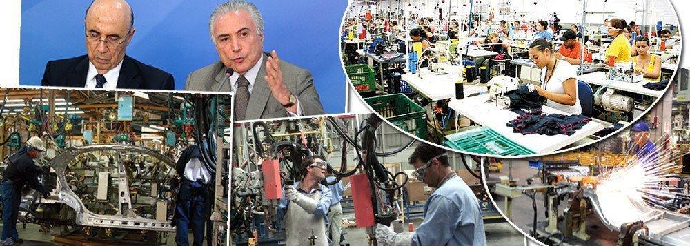 Produção industrial do Brasil acumulou uma queda de 6,6% em 2016, ano em que o Brasil vivenciou um golpe parlamentar que retirou a presidente Dilma Rousseff do poder; mesmo com dezembro tendo fechado com alta de 2,3% em relação ao mês anterior, o quarto trimestre do ano passado encerrou com uma retração de 3,1%; dados foram divulgados nesta quarta-feira, 1º, pelo IBGE; entre as atividades que mais sofreram com o golpe que arruinou a economia do país foram as indústrias extrativas (-9,4%), produtos derivados do petróleo e biocombustíveis (-8,5%) e veículos automotores, reboques e carrocerias (-11,4%)
