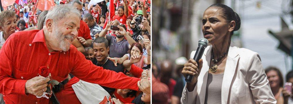 A pesquisa Datafolha deste fim de semana revela que, se as eleições presidenciais fossem hoje, a disputa seria liderada pelo ex-presidente Lula, com 21%, seguido por Marina Silva, com 19%; um dado marcante é também a queda acentuada dos tucanos, em especial do senador Aécio Neves (PSDB-MG), que, desde que perdeu as eleições presidenciais, aposta na instabilidade política e no caos; de dezembro do ano passado até hoje, ele caiu de 27% para 17%; Geraldo Alckmin também pontua muito mal e fica com apenas 8%; isso significa que a ideia de antecipar as eleições de 2018 pode ser um péssimo para os que se engajaram no golpe contra a presidente Dilma Rousseff