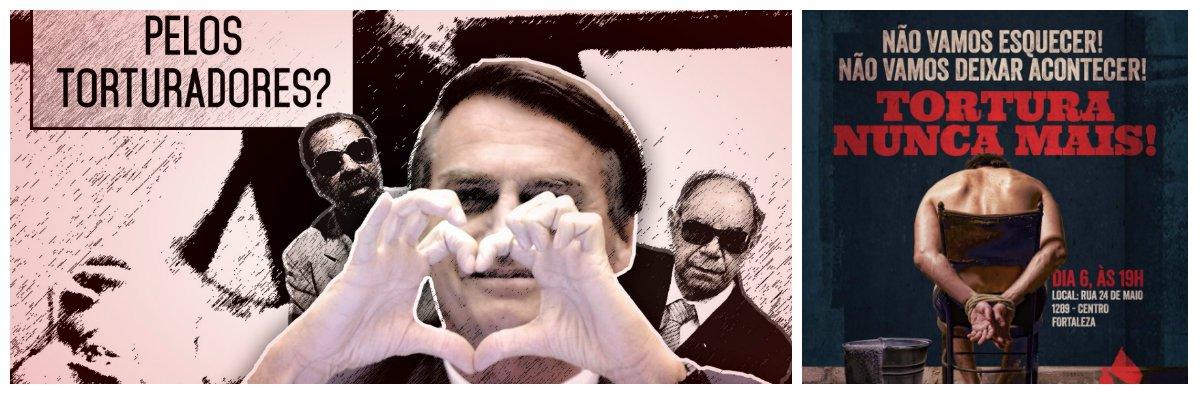 """Na convocatória as bancárias se dizem """"chocadas com a postura, indecorosa, inaceitável e criminosa desse deputado Jair Bolsonaro, por ocasião da votação do impeachment da Presidente Dilma e também de outras vezes em que tem disseminado o ódio, o racismo e o preconceito contra mulheres, homossexuais e negros"""". O ato """"Para que não se esqueça e para que nunca mais aconteça""""está marcado para o dia 6 de maio, no Sindicato dos Bancários, em Fortaleza"""