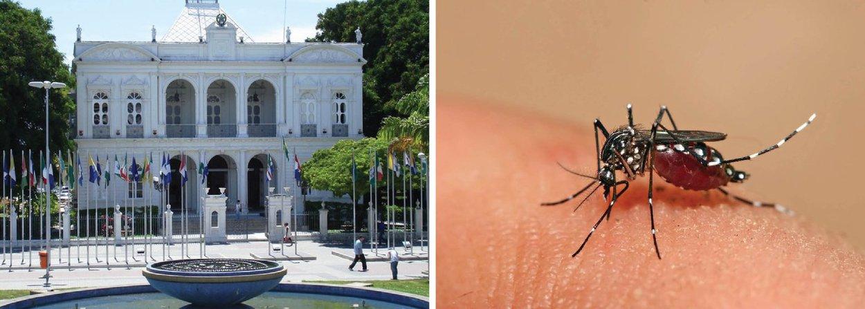 O governo de Alagoas vai lançar um plano de combate ao mosquito Aedes aegypti em parceria com prefeitos e deputados estaduais; o combate ao vetor causador da microcefalia e o acompanhamento com gestantes e crianças são as duas vertentes do plano; decreto de estado de emergência e apoio do Exército também estão sendo analisados; último relatório divulgado pela secretaria de Estado da Saúde registra 94 casos suspeitos de microcefalia; 88 são em recém-nascidos e seis são intrauterinos