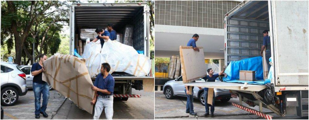 O ex-presidente da Câmara dos Deputados Eduardo Cunha (PMDB-RJ) mandou desocupar nesta sexta (4) o apartamento funcional que morava na 316 sul, em Brasília; com prazo até o dia 13 de outubro, o ex-deputado desocupou a residência funcional da Câmara com quase um mês de atraso