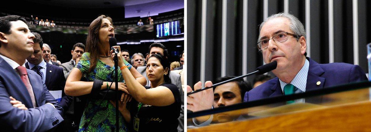 """Para o colunista do 247 Alex Solink, a corrente dentro do PT que defende o não enfrentamento ao presidente da Câmara """"ganha por larga vantagem"""" daqueles que querem a entrega de Eduardo Cunha aos leões, apesar de receberem em troca um processo de impeachment da presidente Dilma Rousseff; """"Mesmo porque, alegam seus porta-vozes, se o governo for derrubado por impeachment a imagem do partido ficará tão ou mais comprometida que com o apoio ao deputado que virou sinônimo de tudo o que há de pior na política brasileira"""", afirma; para Solnik, o melhor que o PT pode fazer é """"ficar na moita esperando Cunha cair de podre""""; """"Quanto mais ficar preocupada com Cunha menos tempo a oposição vai ter para se preocupar com o impeachment"""""""
