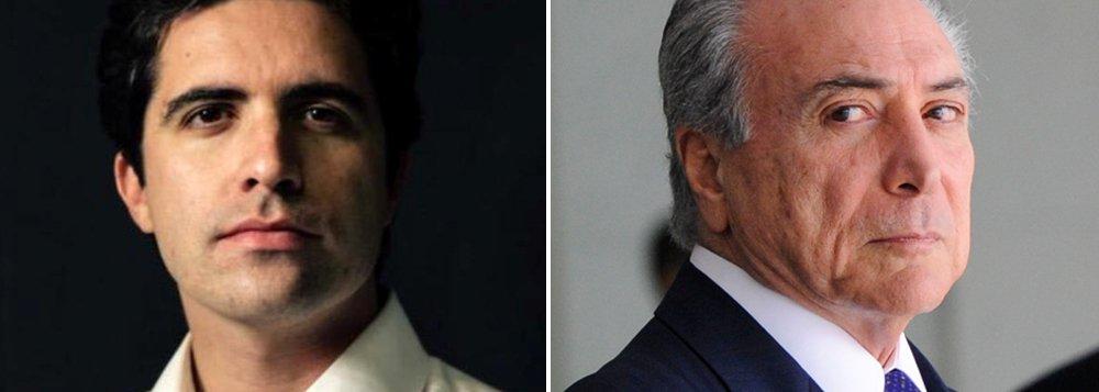 """Para o colunista Bernardo Mello Franco, não é só o olhar do exterior que deveria preocupar os aliados do vice: """"Temer tem razões para se preocupar com o olhar de fora, mas sua tarefa mais urgente é trabalhar a imagem por aqui. Na terça, durante uma rápida aparição pública, um ambulante que passava na rua o chamou de """"traidor"""" e """"golpista"""". Se as palavras usadas por Dilma colarem em sua testa, ele terá dificuldade para governar um país dividido e em crise"""