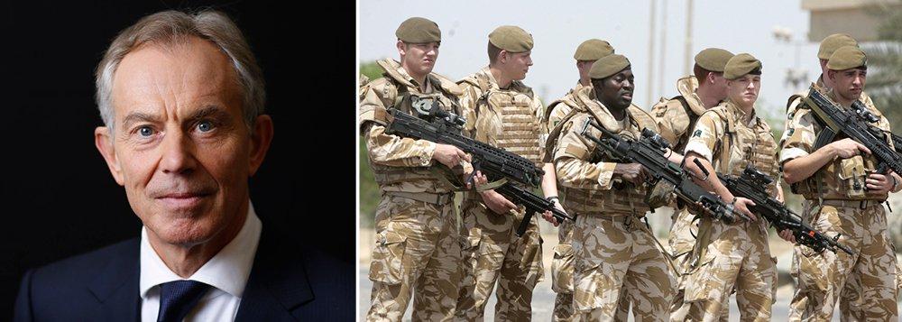 """Ex-primeiro-ministro britânico Tony Blair admitiu que a invasão do Iraque em 2003 foi importante parao surgimento do grupo militante Estado Islâmico e pediu desculpas por alguns erros no planejamento da guerra em uma entrevista transmitida neste domingo; questionado sobre se a ofensiva foi a principal causa da ascensão do Estado Islâmico, Blair disse que havia """"elementos de verdade"""" nisso; ele pediu desculpas pelo o que descreveu como erros de planejamento e inteligência para o conflito"""