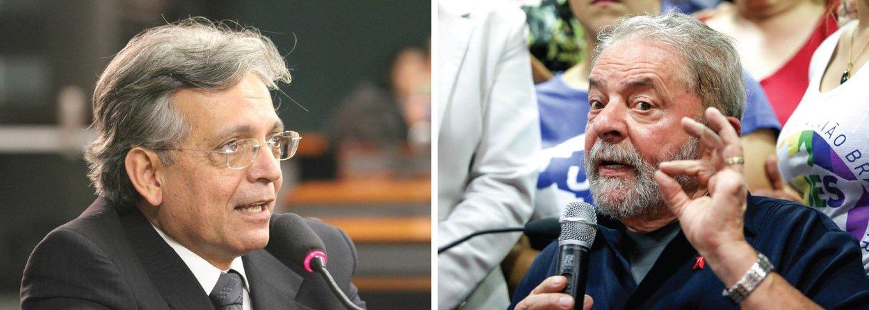 """A oposição já prepara uma ação contra o ex-presidente Lula caso ele aceite um ministério no governo; o setor jurídico do DEM redigiu uma ação popular por desvio de finalidade para garantir uma liminar que suspenda a nomeação; """"Achamos que é um escárnio a nomeação do ex-presidente Lula apenas com a finalidade de blindá-lo"""", afirmou o líder do DEM na Câmara, Pauderney Avelino (AM)"""