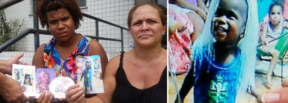 Um disparo de arma de fogo matou o menino Ruan Gomes, de 2 anos, na madrugada deste sábado; ele foi ferido enquanto dormia com a mãe e a irmã, na casa onde moram, na Favela Metrô Mangueira, zona norte do Rio de Janeiro; a mãe afirma que um tiroteio ocorria no Morro da Mangueira por volta das 4h30, quando Ruan foi baleado;morte do menino levou moradores da comunidade a protestar na Avenida Radial Oeste, que chegou a ser fechada na altura da Universidade Estadual do Rio de Janeiro