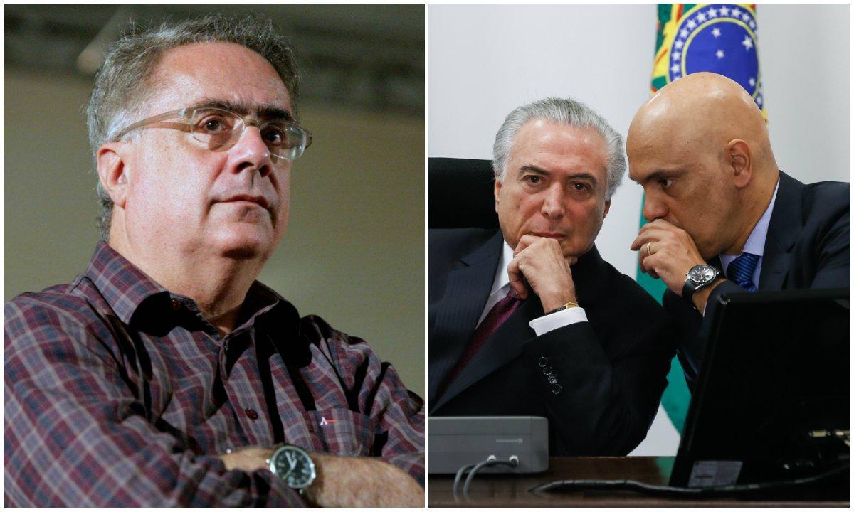 """Comentário do jornalista Luís Nassif foi feito em cima do tuíte de Michel Temer em que ele sai em defesa do uso da palavra """"acidente"""" para se referir ao massacre planejado que deixou 56 detentos mortos em um presídio de Manaus"""