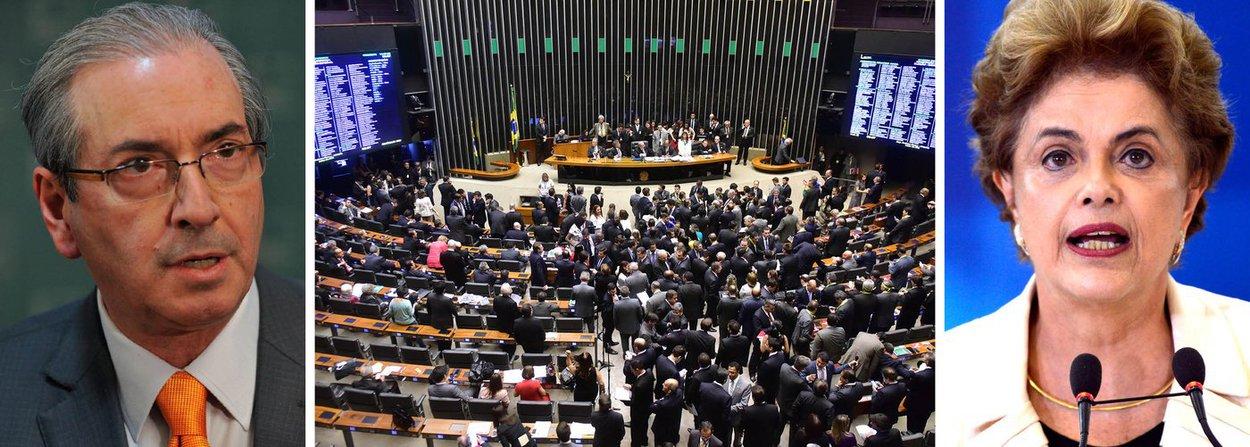 O 1º secretário da Câmara dos Deputados, Beto Mansur (PRB-SP), entregou nesta quinta (17), no Palácio do Planalto, notificação sobre o início dos trabalhos da comissão especial do impeachment da presidente Dilma Rousseff; assim, passa a contar o prazo de 10 sessões do Plenário da Câmara para que a presidente se defenda das denúncias na comissão; o colegiado elegeu Jovair Arantes (PTB-GO), aliado do presidente da Câmara, Eduardo Cunha (PMDB-RJ), relator do colegiado; para presidir a comissão, foi eleito Rogério Rosso (PSD-DF); já Carlos Sampaio (PSDB-SP) ficou como primeiro-vice-presidente; Mauricio Quintella Lessa (PR-AL) como segundo-vice; e Fernando Coelho Filho (PSB-PE) como terceiro-vice