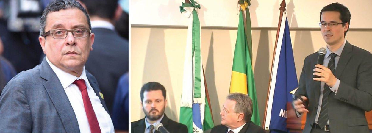 Procuradores que atuam na Operação Lava Jato apresentaram as acusações contra 17 denunciados nas 23ª e 26ª fases das investigações, batizadas de Acarajé e Xepa, respectivamente; dentre os denunciados estão o marqueteiro João Santana e sua mulher, Mônica Moura, o operador de propina Zwi Scornick, o ex-tesoureiro do PT João Vaccari Neto, além dos ex-diretores da Petrobras Pedro Barusco e Renato Duque; procuradores também ofereceram denúncias contra o ex-presidente da empreiteira Odebrecht Marcelo Bahia Odebrecht e outros executivos da construtora