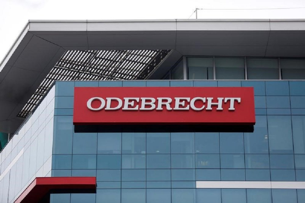 Logo da Odebrecht em Lima, capital do Peru. 28/06/2016 REUTERS/Janine Costa
