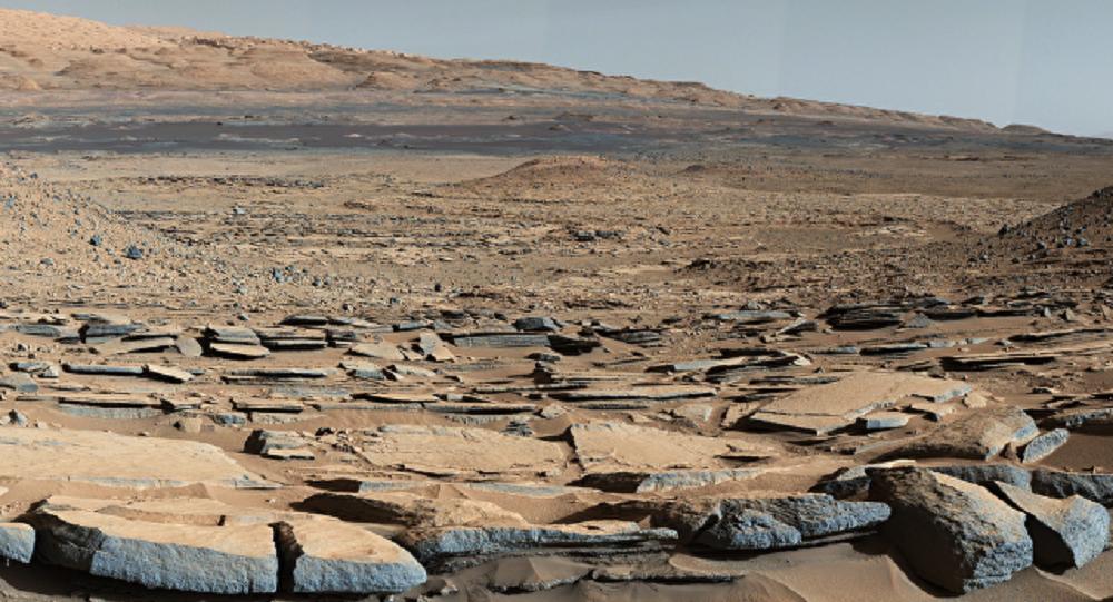 """Em Marte existiam oceanos de água quente porque seus vulcões emitiam metano periodicamente; segundo Robin Wordsworth, especialista da Universidade de Stanford, EUA, em Marte """"havia todas ascondições para a origem e evolução da vida"""""""