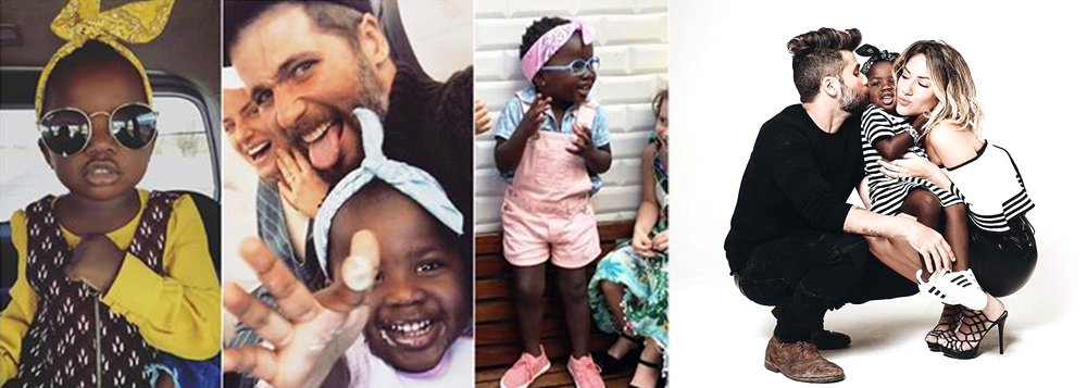 """Durante participação no """"Domingão no Faustão"""", neste domingo 13, no quadro """"Dança dos Famosos"""", o ator comentou: """"A gente ter que ser intolerante em relação ao preconceito. Agora cabe à polícia. Temos que combater o preconceito com amor e justiça""""; Bruno Gagliasso disse ainda que irá se empenhar pessoalmente para que os envolvidos sejam punidos; ele e sua esposa,Giovanna Ewbank, adotaram Titi depois de várias idas à África"""