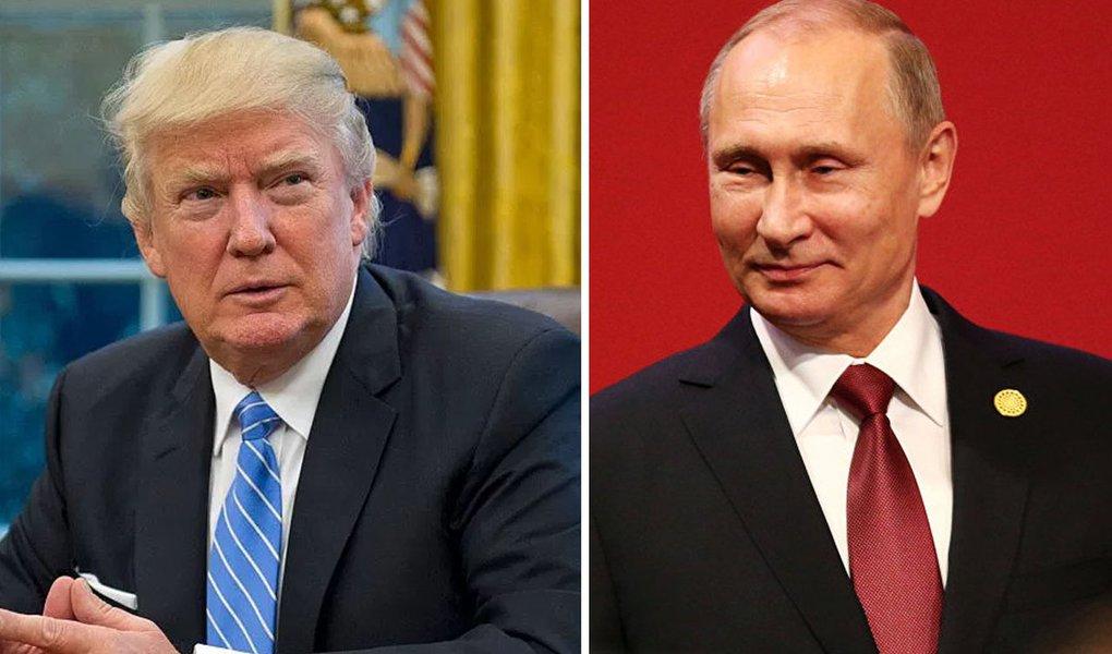Washington afirma que as conversações entre o 45º presidente recém-empossado dos EUA, Donald Trump, e o chefe de Estado russo, Vladimir Putin, se realizarão neste sábado, 28, às 15h no horário de Brasília; conversa diretamente do Salão Oval, em Washington, já está na agenda do presidente, estando marcada para as 12h da hora local; porém, Vladimir Putin não será o único líder com o qual Trump falará; antes disso, Trump vai conversar com o premiê japonês, Shinzo Abe, e a chanceler alemã, Angela Merkel