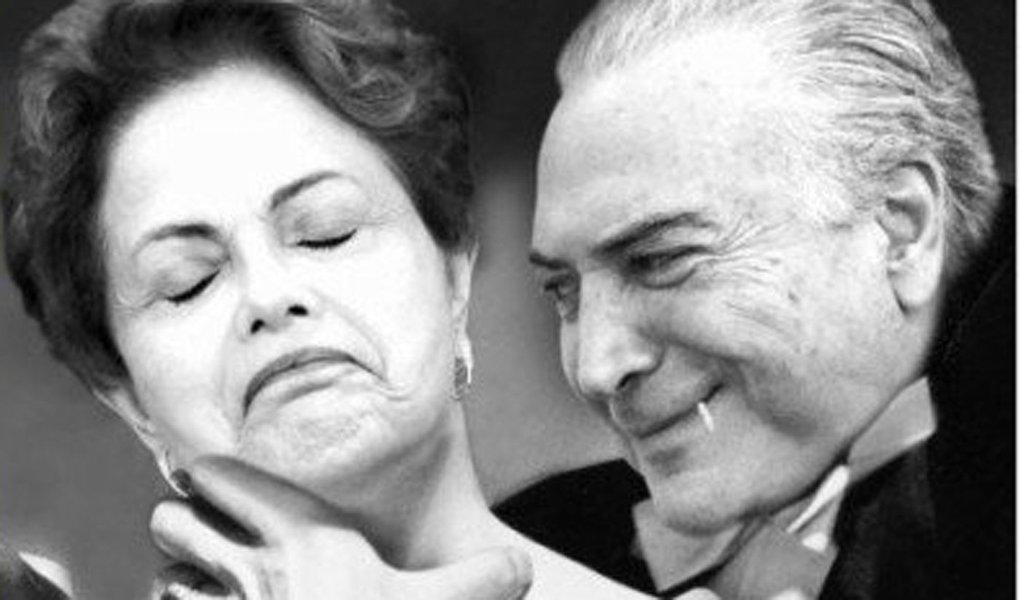 """O jornalista e economistaJ. Carlos de Assis, do Movimento Brasil Agora, revela que o ilegítimoMichel Temeré o """"Vampiro"""" na delação da Odebrecht"""