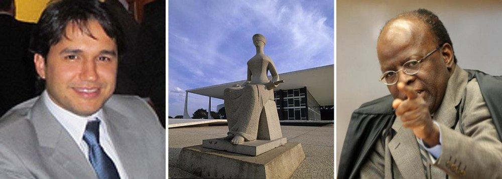 """Em 2013, após uma reunião do CNJ, o então presidente do STF, Joaquim Barbosa, mandou o repórter Felipe Recordo, na época do jornal O Estado de São Paulo, """"chafurdar no lixo"""" e ainda o chamou de """"palhaço"""";na decisão, o juiz João Luis Zorzo, da 15ª Vara Cível de Brasília, classificou as declarações como """"descortesias recíprocas entre as partes"""" e entendeu que não ficou caracterizado o dano moral na situação"""