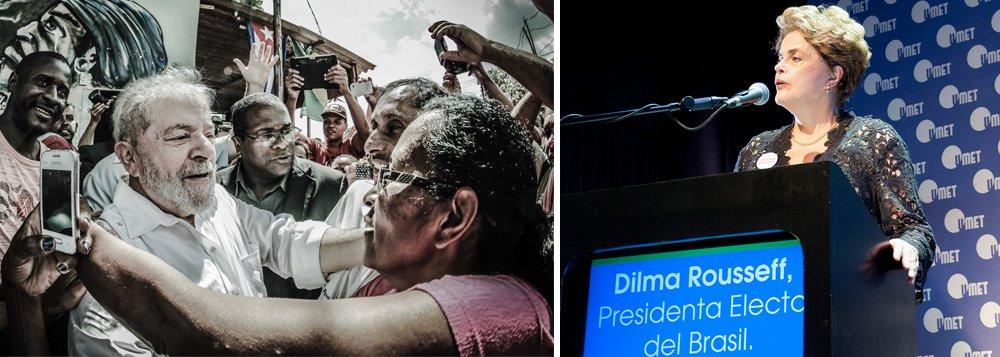 """Durante sua passagem por Buenos Aires nesta semana, em que recebeu título de Doutora Honoris Causa pela Universidade Metropolitana para a Educação e o Trabalho (UMET), a presidente deposta Dilma Rousseff disse que a saída para a crise política e econômica instaurada com o golpe parlamentar é a realização de eleições diretas; o ex-presidente Luiz Inácio Lula da Silva, para ela, é a saída; """"Não penso em voltar à política, porque o grande presidente para o Brasil é Lula"""", afirmou Dilma; """"O povo brasileiro jamais autorizou, numa campanha eleitoral, a aposentadoria integral só após 49 anos de trabalho""""; """"A eleição direta é um momento para lavar e enxaguar a alma do povo, que também não autorizou de maneira alguma que houvesse um processo de privatização, principalmente na área do petróleo"""""""