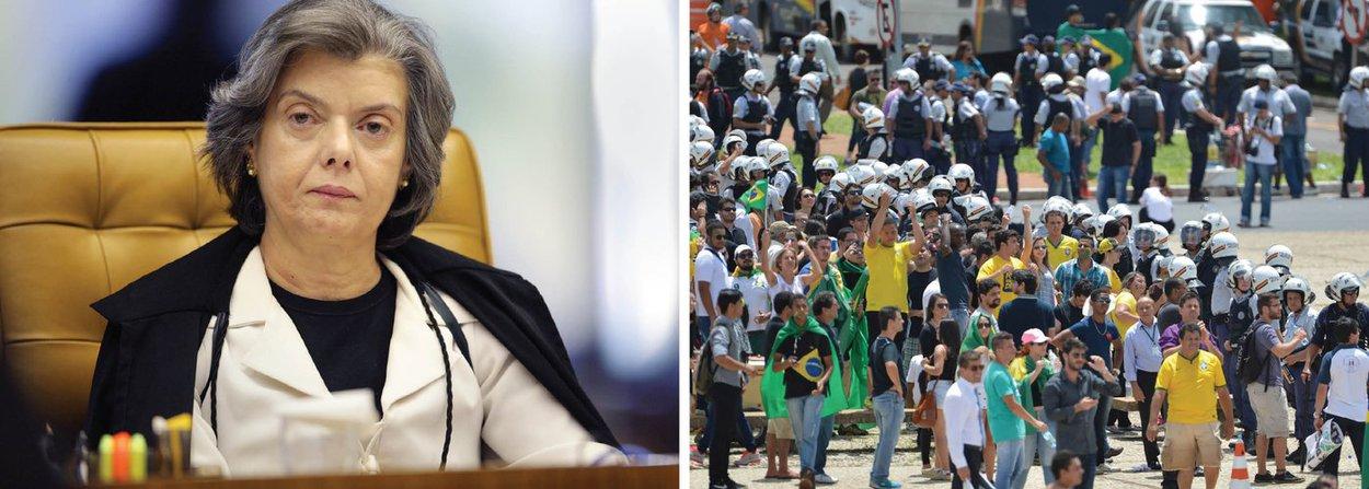 """""""Eu acho que todas as vezes que o cidadão vai às ruas e se manifesta, ele quer revelar exatamente o que pensa"""", disse a ministra, presidenta do TSE entre 2012 e 2014, que, em breve, assumirá o comando do Supremo Tribunal Federal"""
