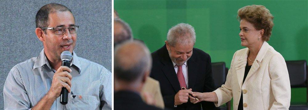 """Presidente estadual do PT, Júlio César Brasil, conclamou a militância do partido e de movimentos sociais e sindicais para a manifestação em defesa da presidente Dilma Rousseff e do ex-presidente Lula, que acontecerá nesta sexta-feira, 18, em Palmas e diversas cidades do País; """"Depois de ontem acho que não é dúvida para ninguém de bom senso que tem um golpe acontecendo nesse País, patrocinado por parte da grande mídia e por parte do judiciário brasileiro, infelizmente"""", afirmou; """"A justiça que deveria manter a ordem e a legitimidade do processo estão a serviço da confusão e da derrubada da democracia no País"""", acrescentou"""
