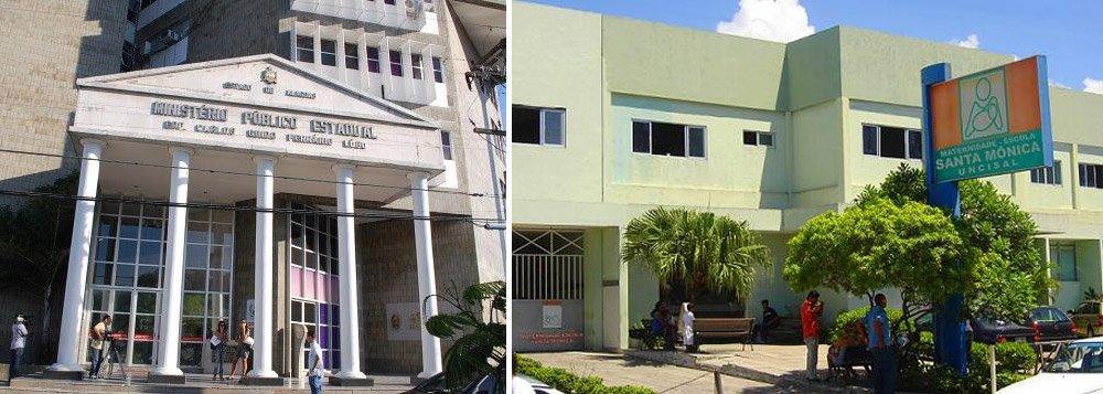 O Ministério Público Estadual (MPE) abriu procedimento administrativo para investigar, na Maternidade Escola Santa Mônica, denúncia da existência de 'funcionários fantasmas' e contratação de pessoas para exercerem cargos temporários na unidade; documentos já estão sendo requisitados