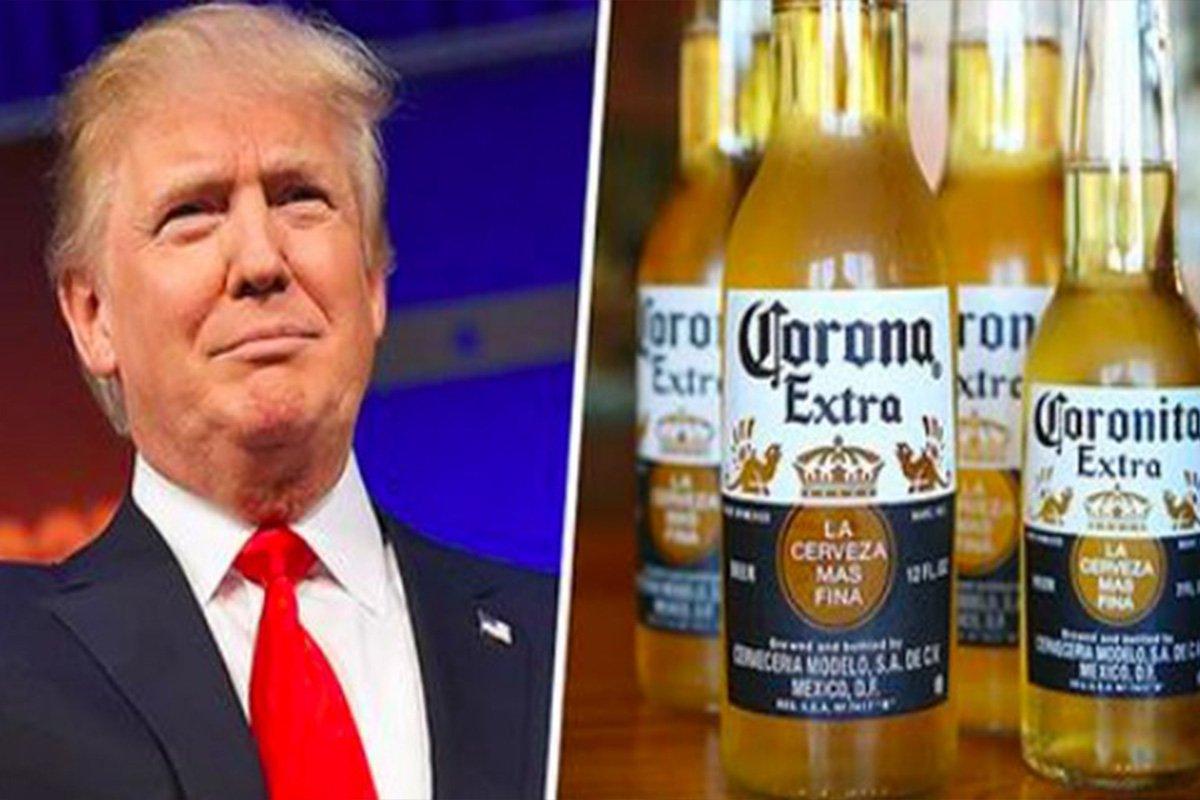 Em campanha publicitária, a cervejaria mexicana Corona aponta que a força da América vem da diversidade e da união de seus povos, enquanto o novo presidente americano, Donald Trump, insiste na construção do muro; confira