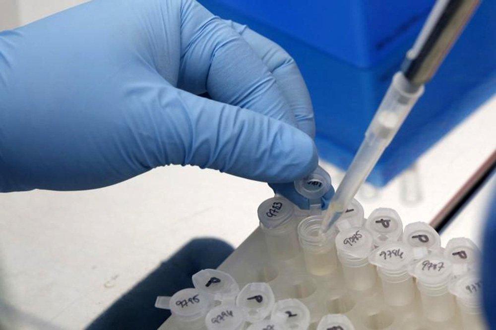 Pesquisador trabalha nos resultados de teste para impedir disseminação do Zika vírus, em laboratório da Cidade do Panamá. REUTERS/Carlos Jasso