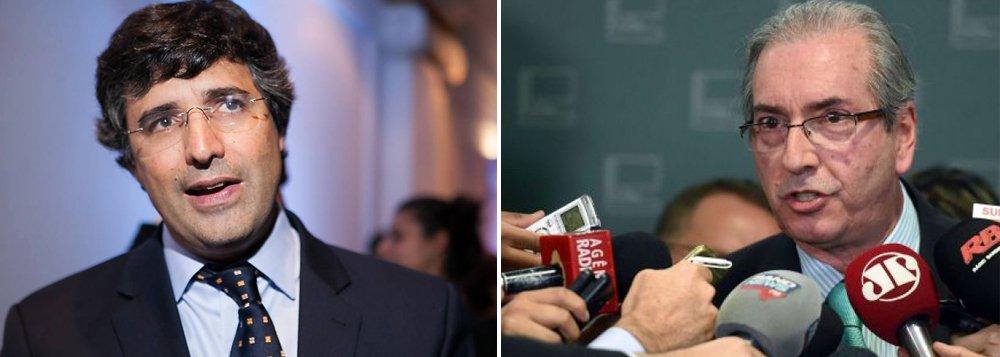 """Um dos novos inquéritos abertos pelo STF (Supremo Tribunal Federal) contra o presidente da Câmara, Eduardo Cunha (PMDB-RJ), envolve a relação com o banqueiro André Esteves com medidas provisórias no Congresso; em sua delação premiada, o senador Delcídio Amaral (sem partido-MS) afirmou que """"o presidente da Câmara funcionava como menino de recados de André Esteves, principalmente quando o assunto se relacionava a interesses do banco BTG, especialmente no que tange a emendas às medidas provisórias que tramitam no Congresso"""""""