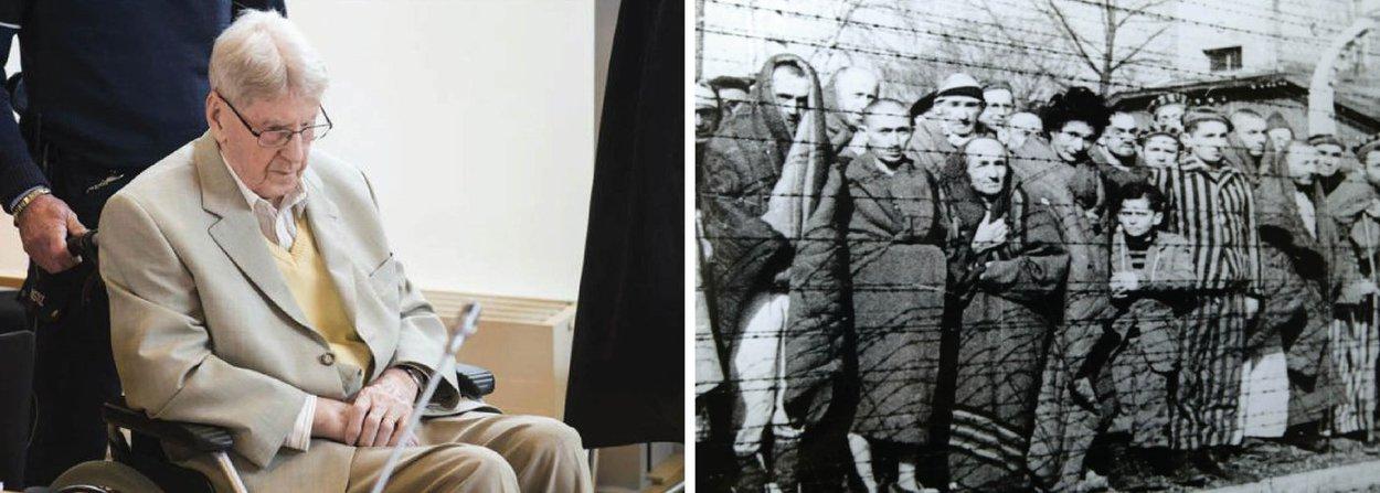 """Reinhold Hanning, 94 anos, que enfrenta julgamento sob a acusação de ter sido cúmplice em assassinatos cometidos no campo de concentração de Auschwitz, pediu desculpas nesta sexta-feira, 29, perante o júri; """"Eu realmente sinto muito"""", disse Hanning; """"Me envergonho de ter visto o errado acontecer e nada ter feito para parar isso""""; ele é acusado de ter feito parte do """"funcionamento interno"""" do campo de Auschwitz, onde cerca de 1,1 milhão de pessoas foram mortas, a maioria judeus"""