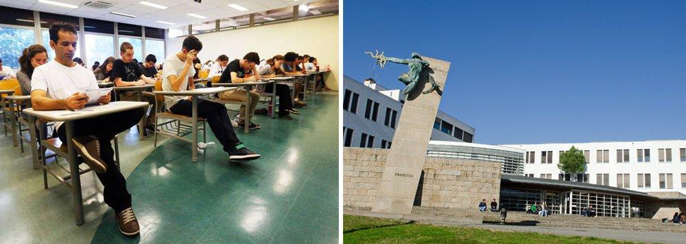 Já são 18 as universidades portuguesas que aceitam as notas do Exame Nacional do Ensino Médio (Enem) como forma de seleção de estudantes brasileiros para graduação; notas do Enem servem, em Portugal, para classificar os alunos brasileiros para concorrer às vagas destinadas aos estudantes internacionais