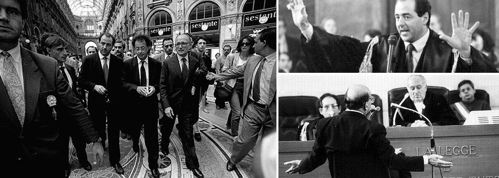 """""""A Mãos Limpas investigou 5 mil pessoas. Condenou 1,2 mil e, num ambiente de massacre moral apoiado pela mídia amiga, produziu 12 vítimas fatais – pessoas que, honestas ou não, culpadas ou não, optaram por cometer suicídio depois que sua imagem pública foi destruída. Qual o resultado?"""", questiona Paulo Moreira Leite; """"A corrupção não diminuiu"""", diz o procurador Gherardo Colombo, uma das principais referências intelectuais da força-tarefa de Curitiba; """"A Operação Mãos Limpas foi esvaziada e perdeu apoio político quando ficou claro que as medidas de exceção que davam seu ritmo se transformaram numa ameaça à democracia do país"""", diz PML"""