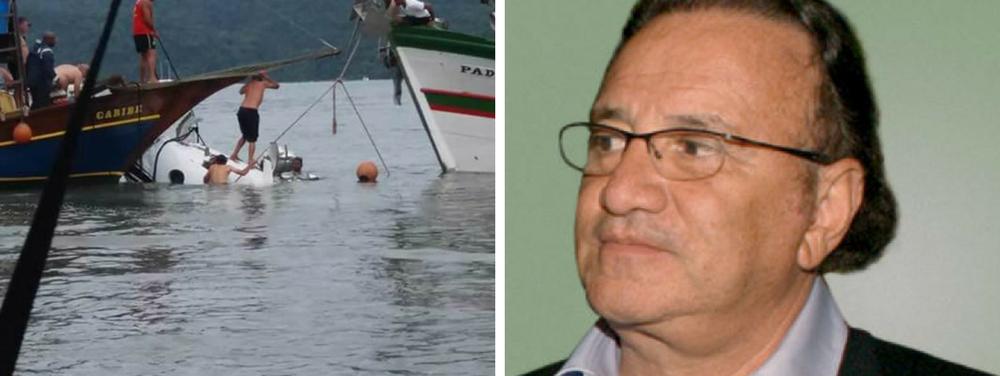 Carlos Alberto Filgueiras, Emiliano, acidente Teori Zavascki