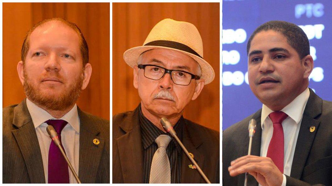 """Deputados Othelino Neto (PCdoB), Zé Inácio (PT) e Fernando Furtado (PCdoB) criticaram a decisão do presidente da Câmara Federal, Eduardo Cunha (PMDB-RJ), de acolher o pedido de impeachment da presidente Dilma (PT); para Othelino, tratar a discussão do impeachment como """"vingança"""" foi """"um gesto de irresponsabilidade que apequenou"""" o peemedebista e que """"apequena a Câmara dos Deputados""""; para o petista, que repudiou a conduta de Cunha, quem é favorável ao impeachment é porque não se preocupa com o País; Furtado disse quenão podemos """"criar um golpe em que onde temos experiência do passado, do golpe que foi feito no passado onde o país não teve sossego, não teve paz, não teve crescimento"""""""
